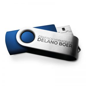 USB sticks bedrukt met logo